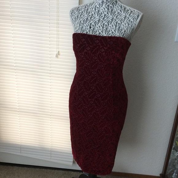 Kay Unger Dresses & Skirts - Kay Unger NY Sz 2 Velvet Burgundy